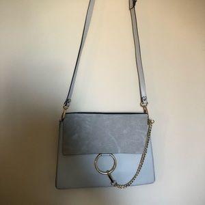 Handbags - Dove Grey Leather Purse